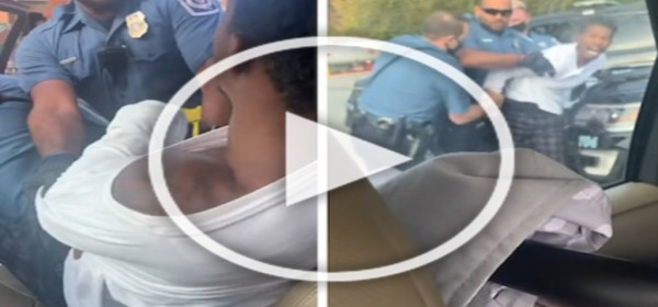 Maryland Police Drag Black Passenger