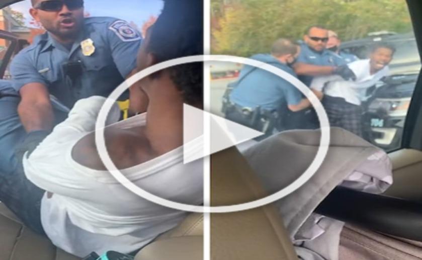 Maryland Police Drag Black Passenger