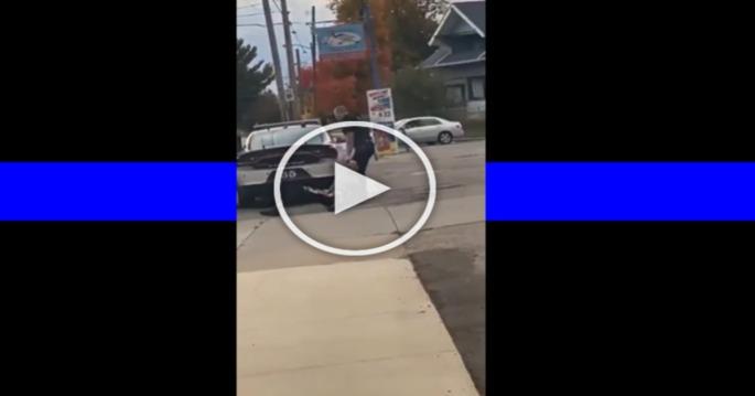 Ohio Police Brutalises Teenager