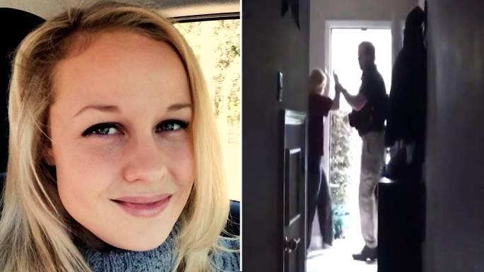 police raid home covid-19 scientist
